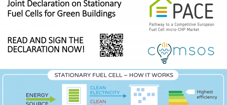 Stationary fuel cells putting buildings at the centre of the European Green Deal